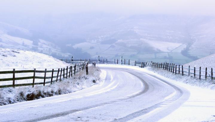 Derbyshire in the Snow
